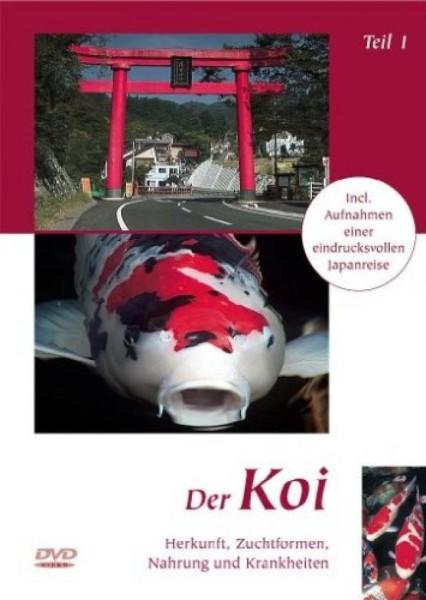 DVD Der Koi Teil 1, Herkunft, Zuchtformen, Nahrungen und Krankheiten