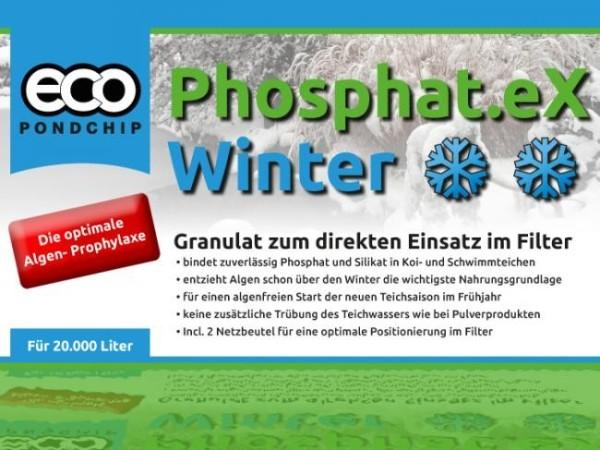 ECO Pondchip Phosphat.eX Winter 5 Liter Eimer