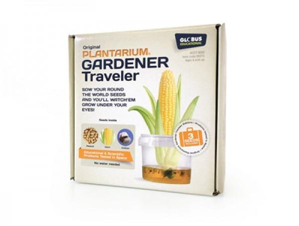 Gewächshaus BioGlobe Ökosystem Gardener Travel