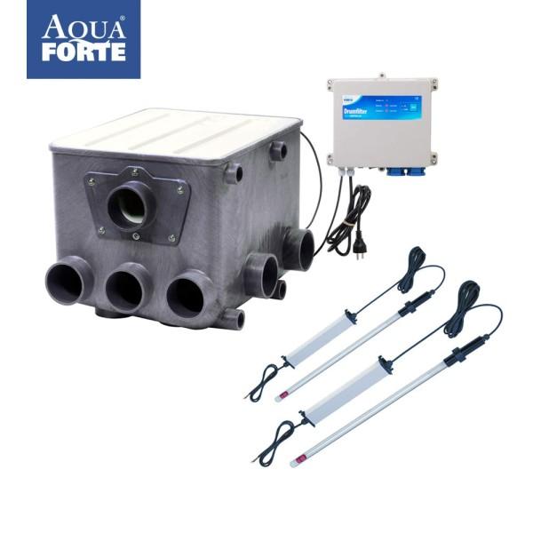 AquaForte ATF-1 Trommelfilter incl. Steuerung & Tauch UV-C