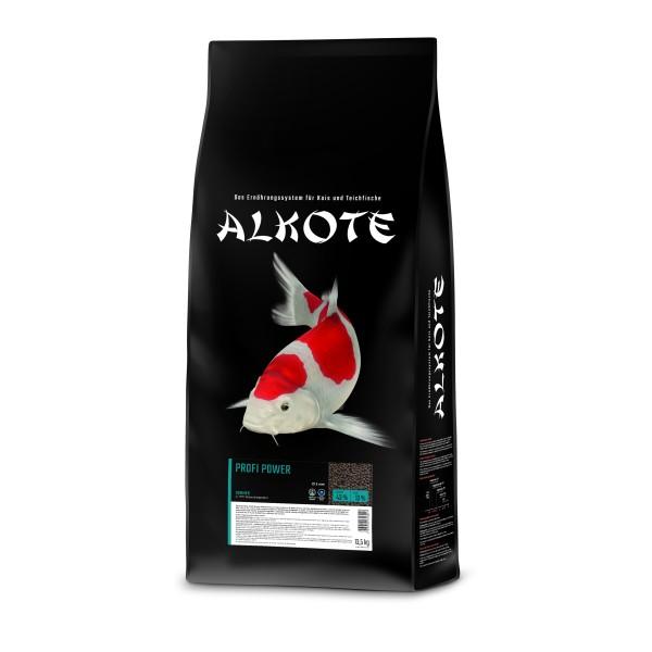 Alkote Koifutter Profi Power (13,5 kg / Ø 3 mm) Leistungsfutter für schnelles Wachstum