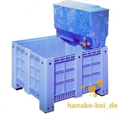 Xclear Koi-Quarantäne-Becken PE 600 l (ohne Filter)