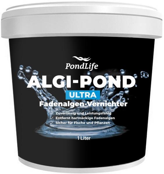 Algi-Pond Ultra - phosphatfreier Fadenalgenvernichter gegen Algenwachstum und Fadenalgen