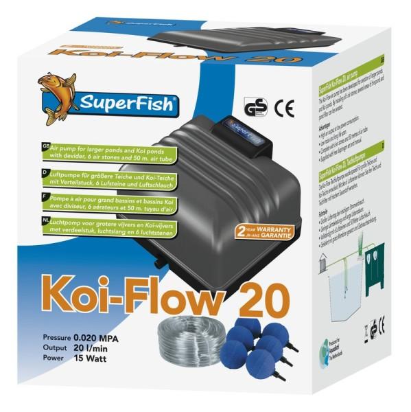 SuperFish Koi Flow 20 Prof. Belüftungsset