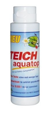 Weitz-Wasserwelt TEICH AQUATOP neue Generation 500g für 10.000 l