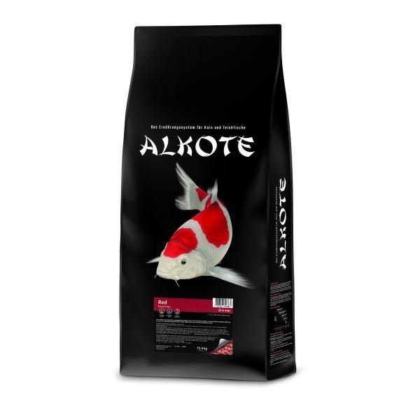 Alkote Koifutter Red / Paprika (13,5 kg / Ø 6 mm) Basisfutter extrudiert