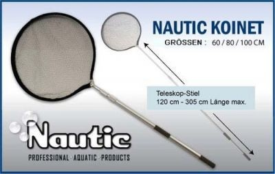 Nautic Alu Koi Kescher Telskop Koikescher 100cm
