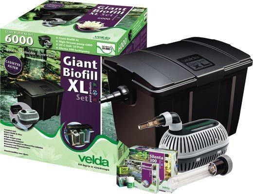 Velda Giant Biofill XL Set 6000 Durchflussfilter