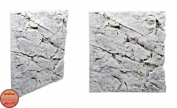 Back to Nature Slim LIne 60B White Limestone 50x55cm