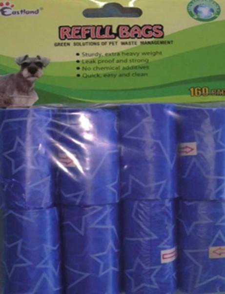 Eastland Hundekotbeutel Kotbeutel Kottüten Hundetoilette 8x20=160 Stück