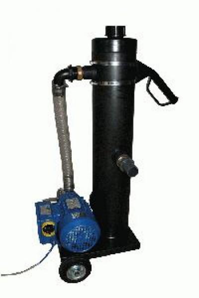 Eco-Teichschlammsauger, Impeller-Wasserpumpe mit PE-Steinabscheider