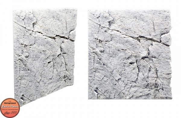 Back to Nature Slim LIne 60A White Limestone 50x55cm