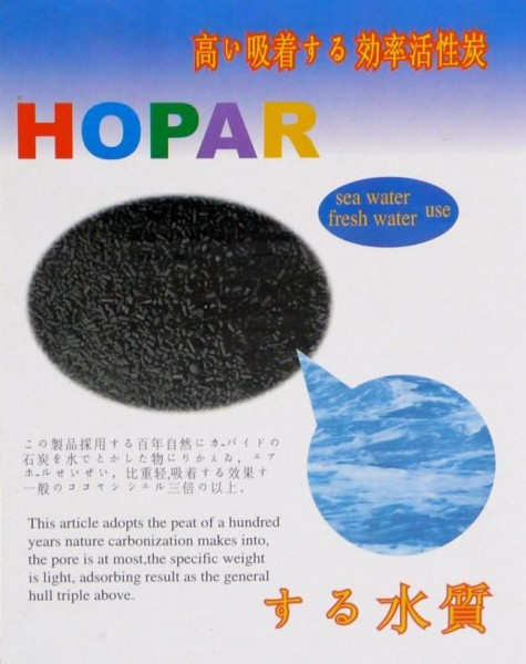 Hopar - Aquariumzubehör Aktivkohle Aqua Carbon (500 ml)