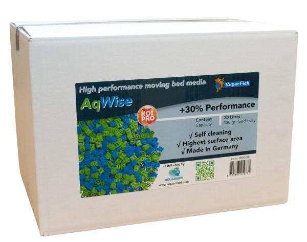AqWise schwimmendes Filtermedium 20L
