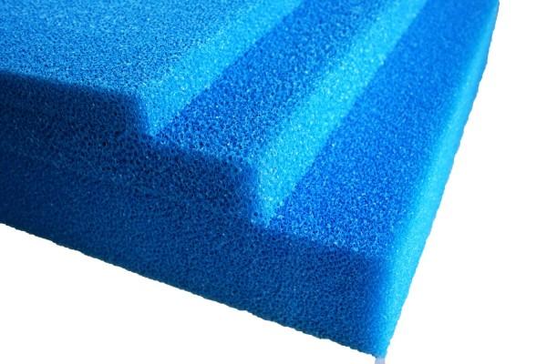 Pondlife Teich - Filterschaum / Filtermatte blau 200 x 100 x 5 cm grob PPI10