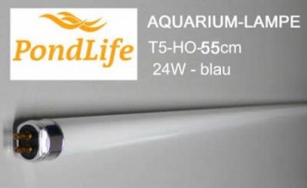 T5 Aquarium Lampe Ersatzleuchte 55cm 24W blau