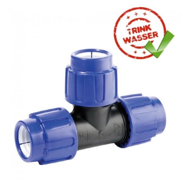 pe-rohr-t-stuck-90-verschraubung-3-x-klemmvers-dvgw-trinkwasser-geeignet, 4.90 EUR @ hanako-koi