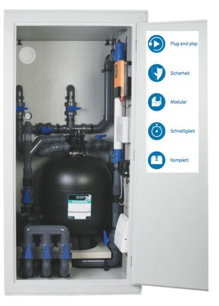 Plug & Swim Filter Kabine