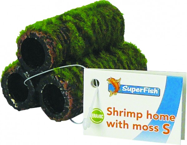 Superfish Shrimp Garnelenturm mit Moos