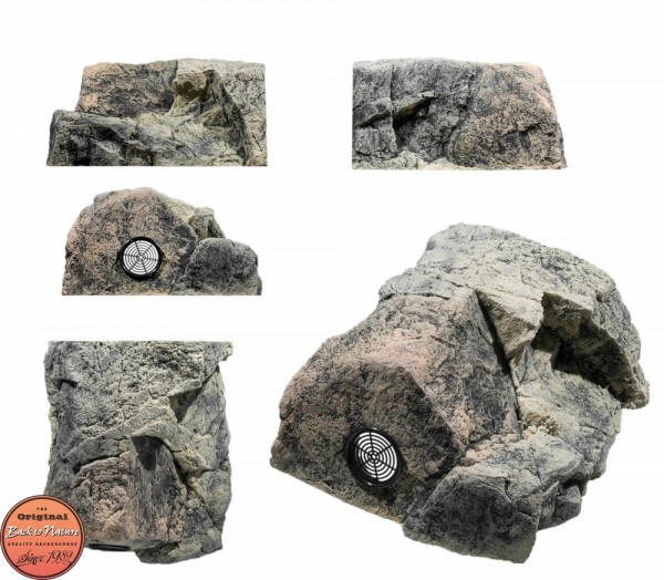 Back to Nature Aquarium Modul Basalt/Gneiss T ( Filtermodul ), 34x29x17cm