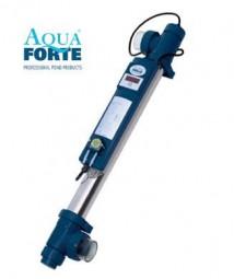 Aqua Forte UV-C Timer Dispens Dosa Tech 40 Watt Edelstahl UVC mit Dosierpumpe + Zeitschaltuhr