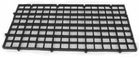 Medienträger (34 x 20 x 1,5 cm) Easy Tray schwarz