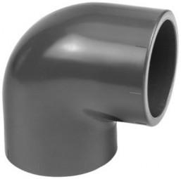 PVC-Winkel 90° Ø 50